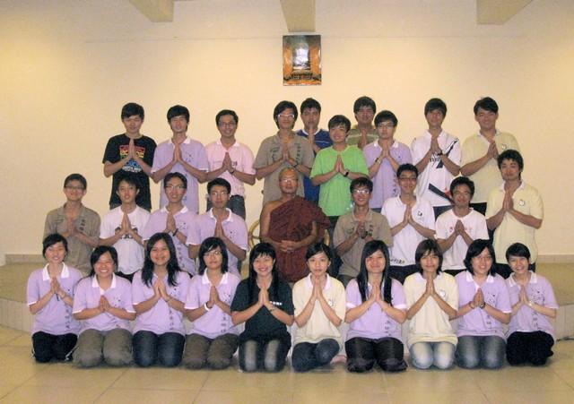 記2010/11沙大佛友聯誼會第二學期佛法班