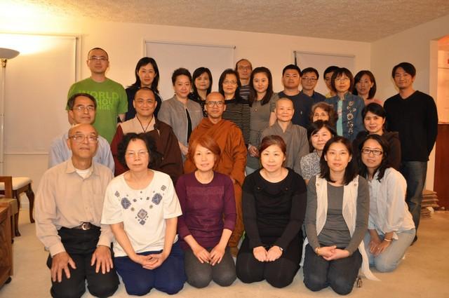 開印比丘2011年海外生活點滴照(一)