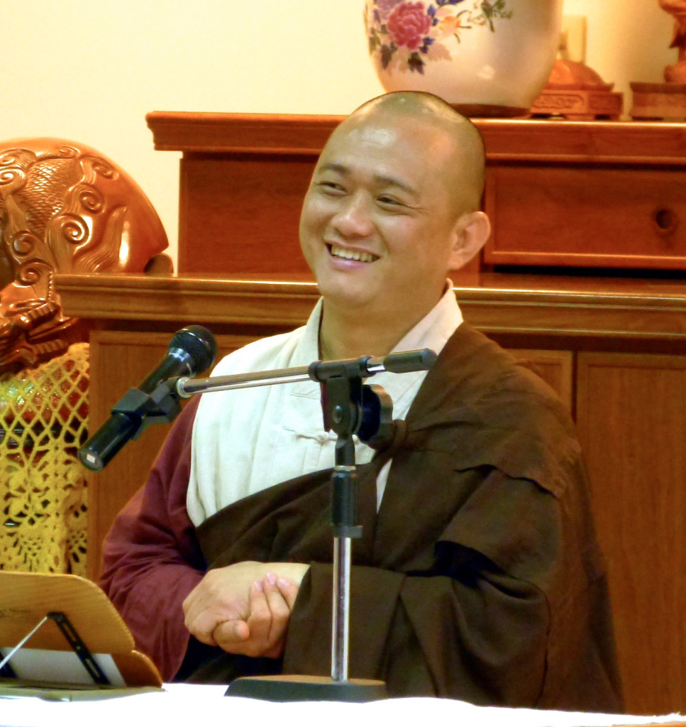20141205-7開印長老給以慈心禪開示。