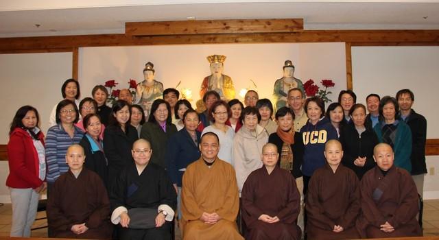 美國華嚴蓮社禮請開印比丘主講兩場佛學講座