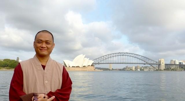 20130113攝於澳洲悉尼被列為世界文化遺產之一的雪梨歌劇院(Sydney Opera House)對面岸。