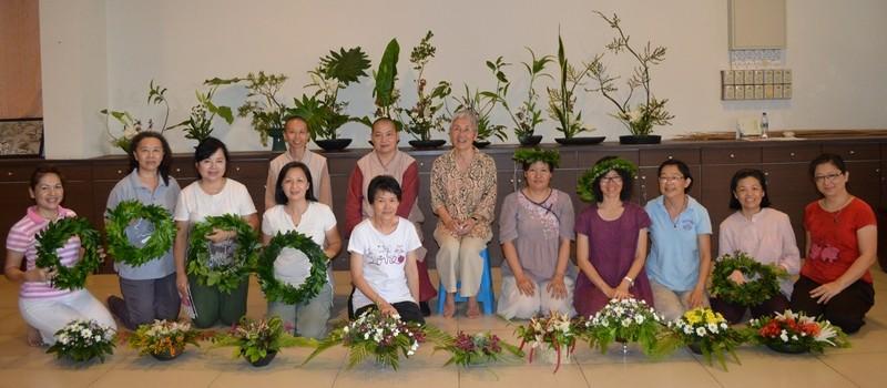 2014年日本花藝課程