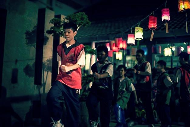 20140913兒童班男生也呈獻舞曲「小帥哥,我相信」。[此相片由李涵威醫生攝]