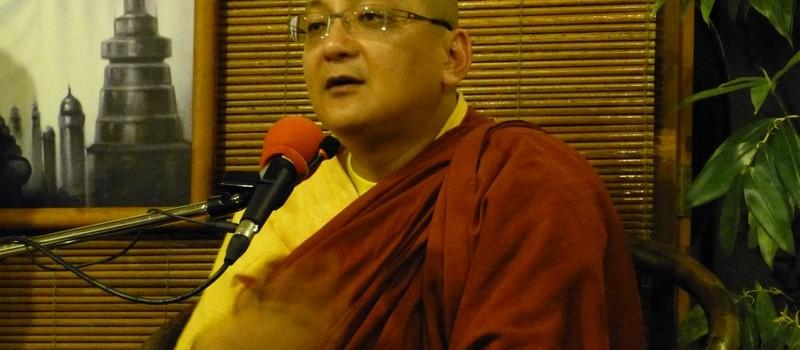 法曜長老開示「早期佛教消業觀」
