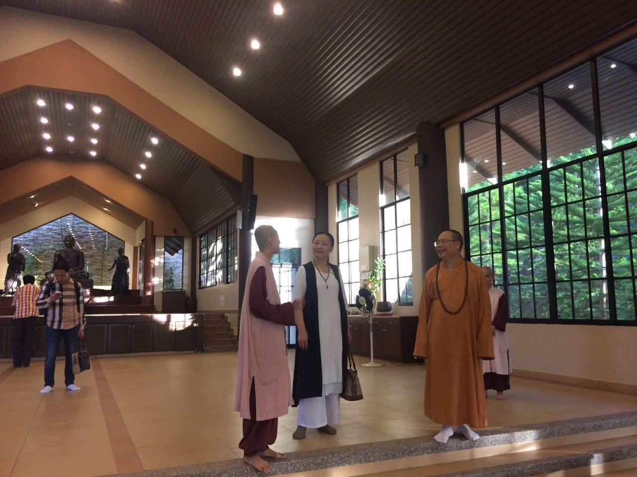 20170220參觀禪堂。