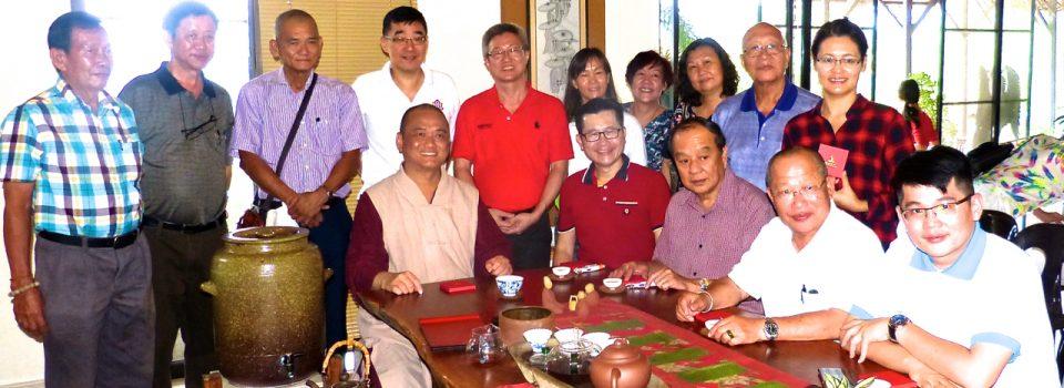 2017年3月12日(日)馬來西亞佛教居士總會全國理事及團體代表到訪