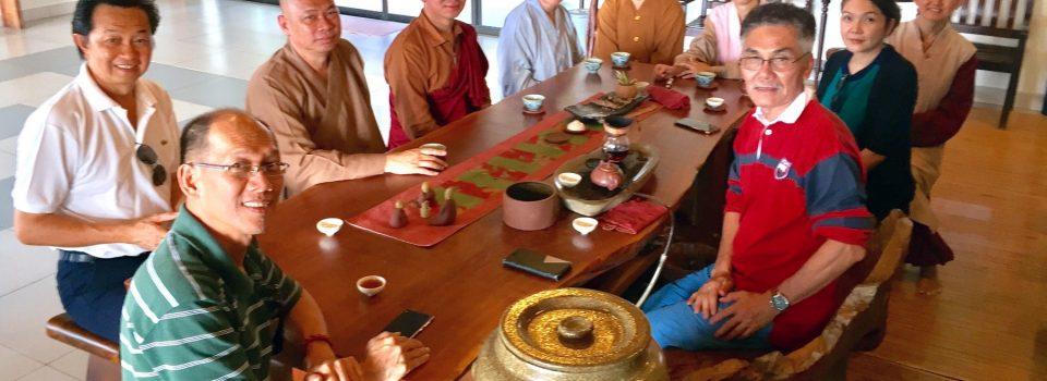 20170502不丹比丘Choten Dorji、章元比丘等到訪