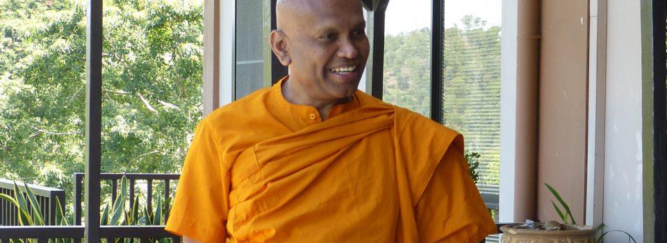 B. Sri Saranankara Nayaka大長老再次蒞臨寂靜禪林