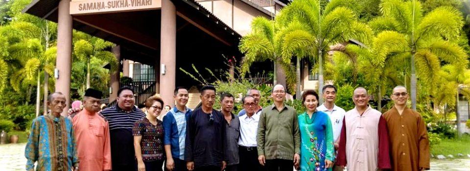 20180617沙巴州副首長兼貿易及工業部長拿督威弗烈丹敖(Datuk Seri Wilfred Madius Tangau)等到訪