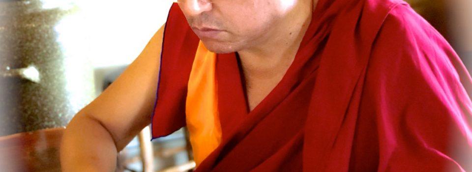 Khenpo Jamyang 蔣揚羅薩再度到來寂靜禪林繼講《俱舍論》