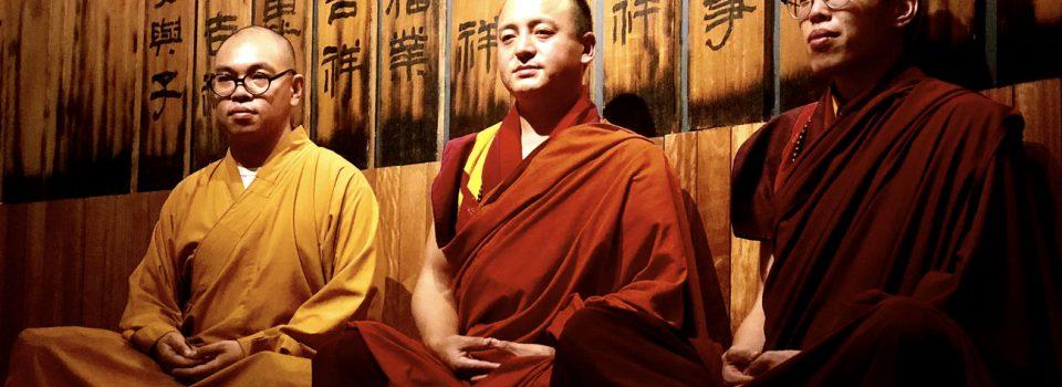 20180730不丹Khenpo Sangay Wangdi Rinpoche及香港定覺比丘和蘇南多傑喇嘛蒞臨